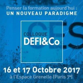 Participez au Colloque DEFI&Co les 16 et 17 octobre à Paris